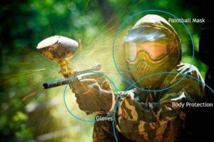 Paintball Protective Gear - (How To Play Paintball Like A Pro)