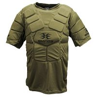 Empire Paintball BT Chest Protector, Olive, Small - Medium