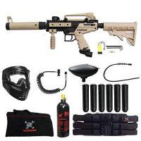 Maddog Tippmann Cronus Tactical Corporal Paintball Gun Package – Black - Tan