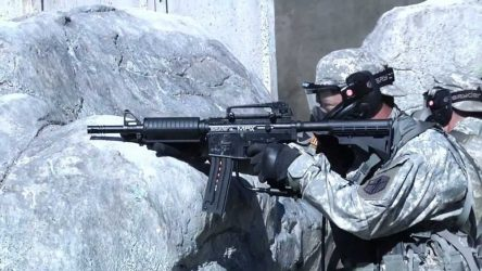What Paintball Guns Do the Military Use