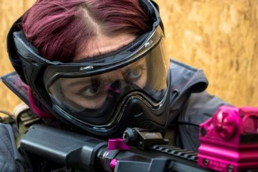 Can paintball masks be used for airsoft