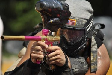 can paintball guns shoot pepper balls