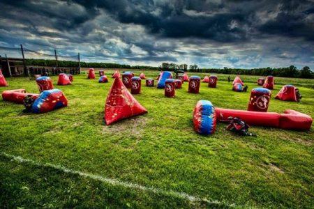 Speedball Paintball Bunkers