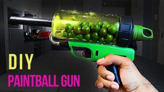 How to Make A Paintball Gun