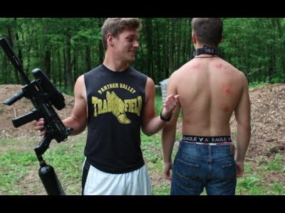 how bad does a paintball hurt
