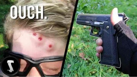 Which Hurts More Airsoft or Paintball